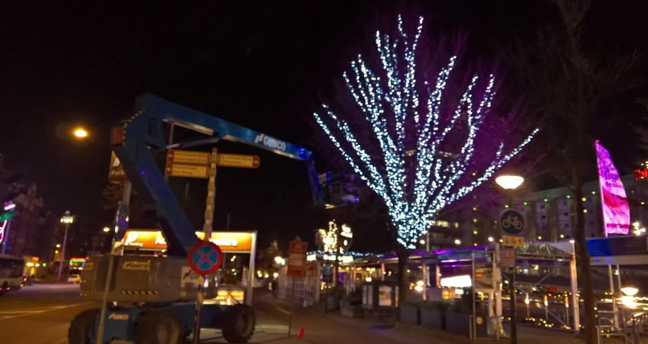 PS eventcrew loofboomverlichting Amsterdam